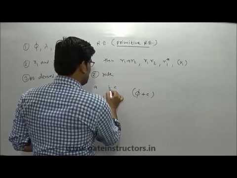 063 | Regular Expression Meaning in Automata TOC | Theory of Computation