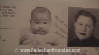 Bruce Lee Birth Live Certificate & Naturalization Archive Very Rare 1940 s