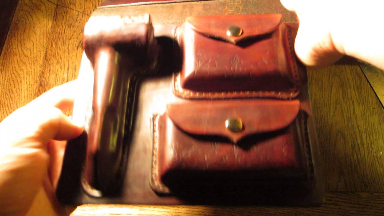 Leather Tobacco Pipe Kit - Pipe Case - YouTube