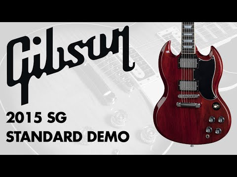 Gibson - 2015 SG Standard Demo at GAK