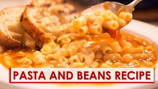 Video Pasta e Fagioli Recipe download MP3, 3GP, MP4, WEBM, AVI, FLV Januari 2018