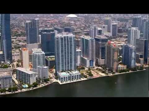 Miami Downtown, Miami Beach And Key Biscayne Aerial Tour