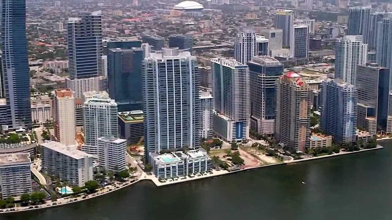 Miami Downtown, Miami Beach and Key Biscayne Aerial Tour ...