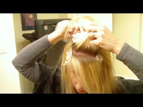 How to highlight your own hair with foils youtube how to highlight your own hair with foils solutioingenieria Gallery
