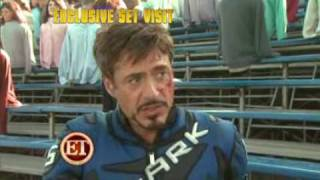Iron man 2 Exclusive Trailer (Behind the scenes)