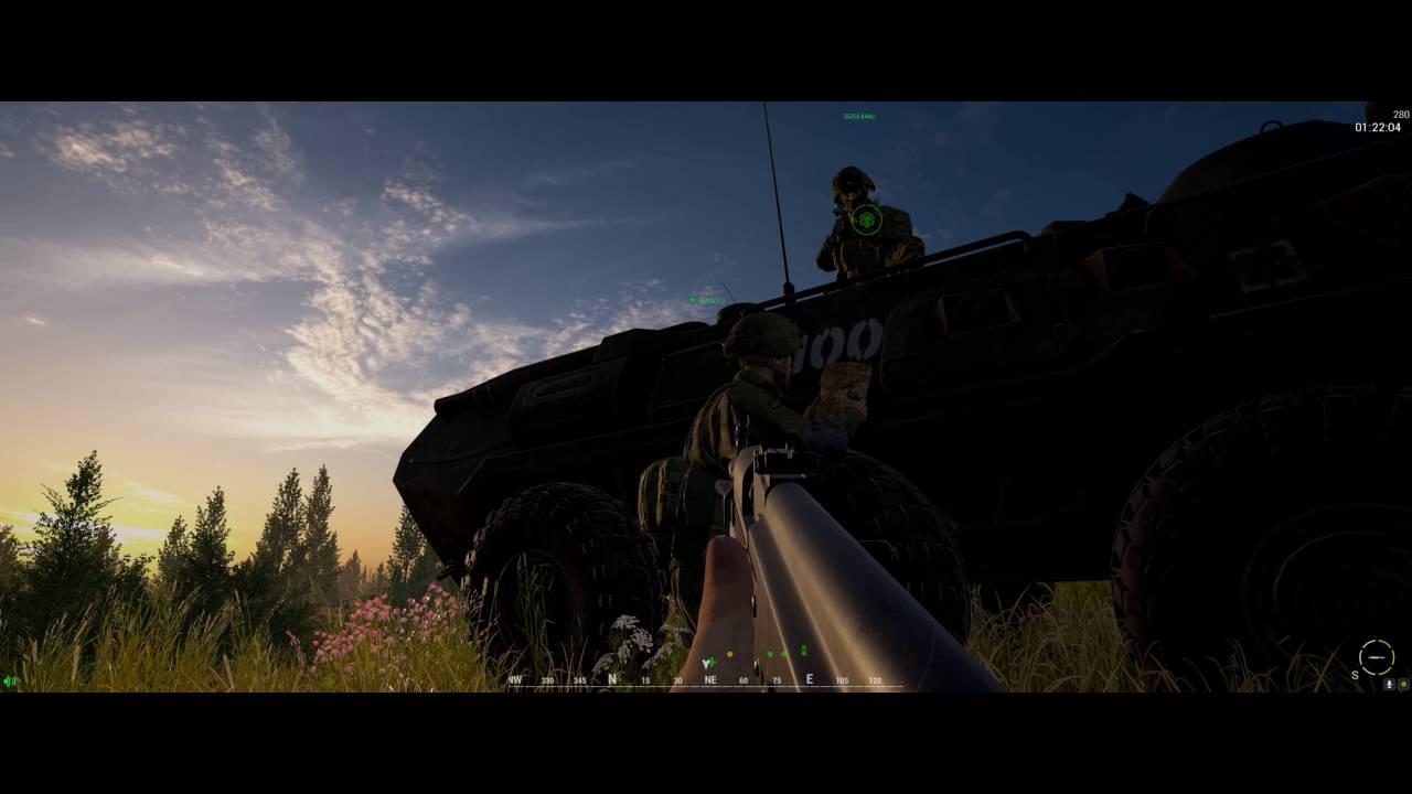 Squad gameplay - Vehicle entry bug