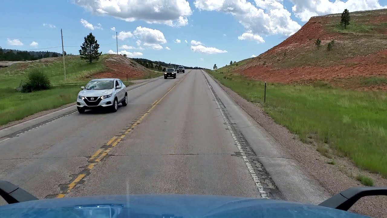 New Highway.. Wyoming Hwy 585.. They Attacked the Chick Inns.
