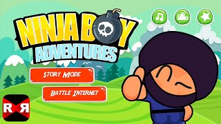 Ninja Boy Adventures (By The Clash Soft) - iOS / Apple TV - Gameplay Video