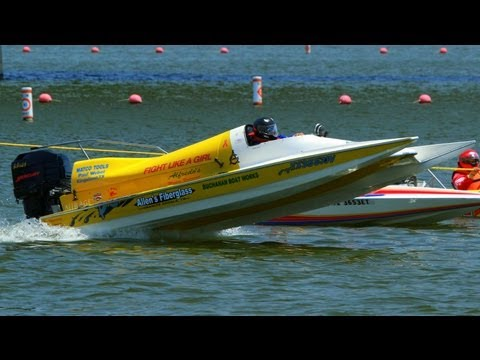 100+ Drag-boats with   Raw Sound! 25mins   Lakefest 2012