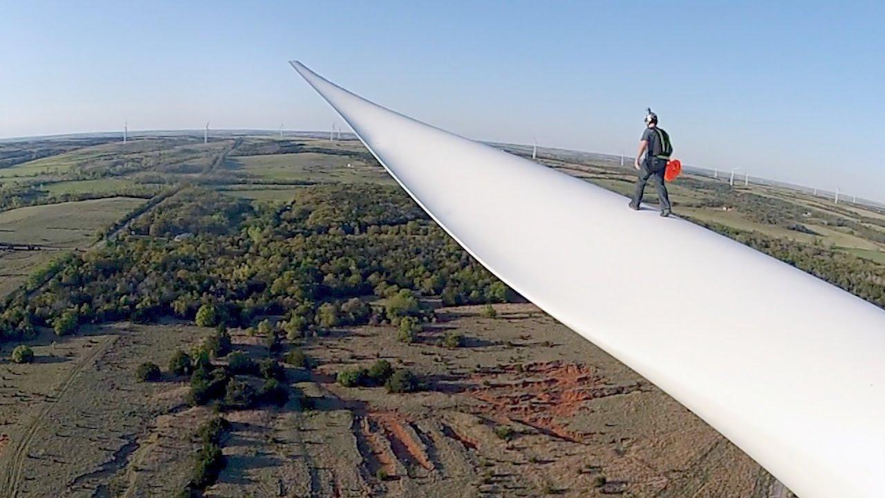 Bladerunner: Wind Turbine BASE Jump
