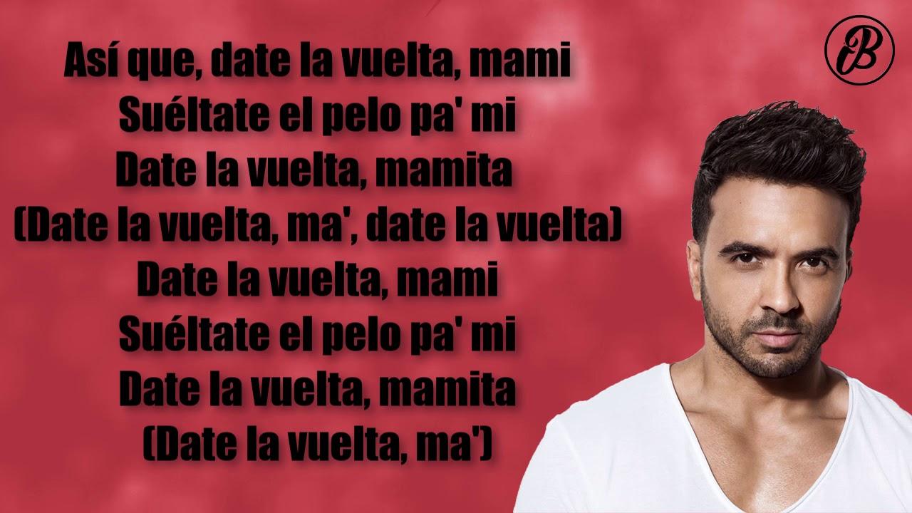 Date La Vuelta Luis Fonsi Nicky Jam Sebastián Yatra Letra By Edgar Negrete