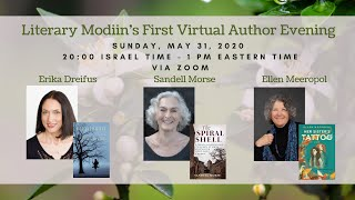 Literary Modiin's Virtual Author Event with Erika Dreifus, Ellen Meeropol and Sandell Morse