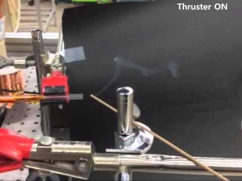 Plasma Thruster Jet Test