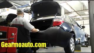 2015-2016 Toyota Corolla Rear Bumper Replacement