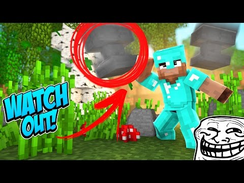 CRUSHING FLY HACKER WITH ANVILS! (Minecraft Trolling Ep 139)