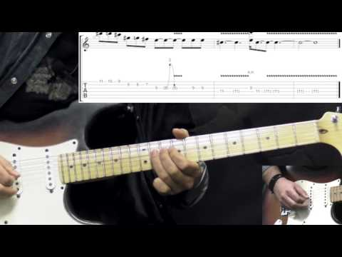 Gary Moore - The Sky Is Crying Part1 - Blues Guitar Lesson (w/Tabs)