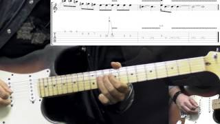Gary Moore - The Sky Is Crying Part1 - Blues Guitar Lesson (with Tabs)