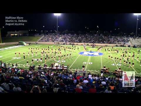 Halftime Show 8/29/2014 - James Martin High School Marching Band