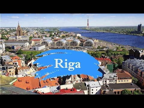Riga, Latvia - September 2014 HD.