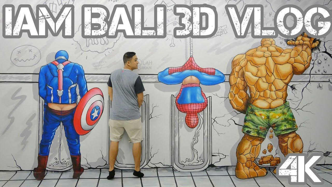IAM BALI 3D Museum  Upside Down Bali VLOG 4K  YouTube