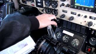 Flight to Isla Juan Fernandez, Chile on Beechcraft Super King Air 200