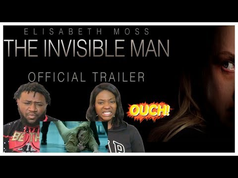 Our Reaction To The {INVISIBLE MAN} Movie Trailer New 2020