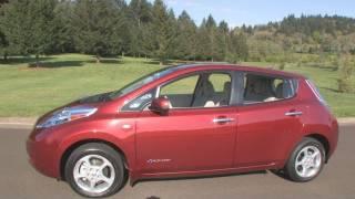 The New 2011 Nissan Leaf 100% Electric Car