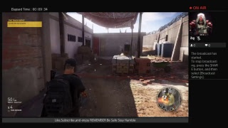 Ghost Recon Wildlands LIVE