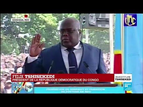 REPLAY - Félix Tshisekedi prête serment à Kinshasa