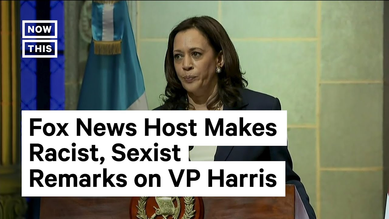 Download Fox News Host Makes Racist, Sexist Remarks About Kamala Harris