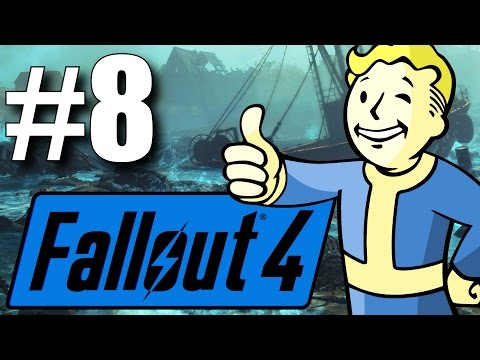Fallout 4 Far Harbor DLC - Part 8 - Back to the Island! (New Survival Mode)