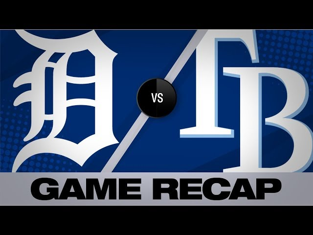 Choi walks it off in the Rays' 5-4 win | Tigers-Rays Game Highlights 8/18/19