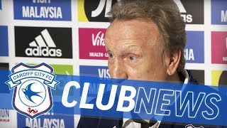 PRE-MATCH MEDIA: CARDIFF CITY v BRIGHTON