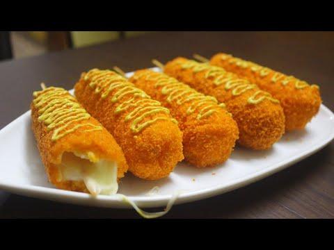 mozzarella-cheese-corn-dog-recipe-[korean-street-food]