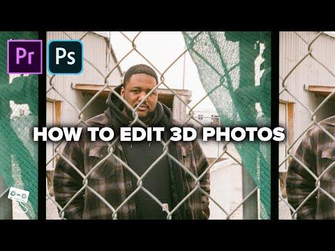 The EASIEST Way To Edit 3D Photos! (Nishika N8000 Tutorial)