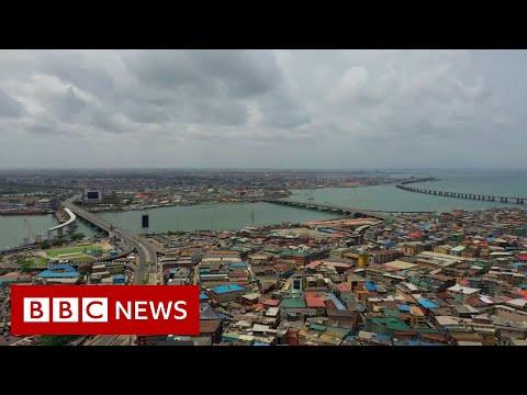 Coronavirus in Lagos: Enforcing lockdown in Africa's biggest city - BBC News