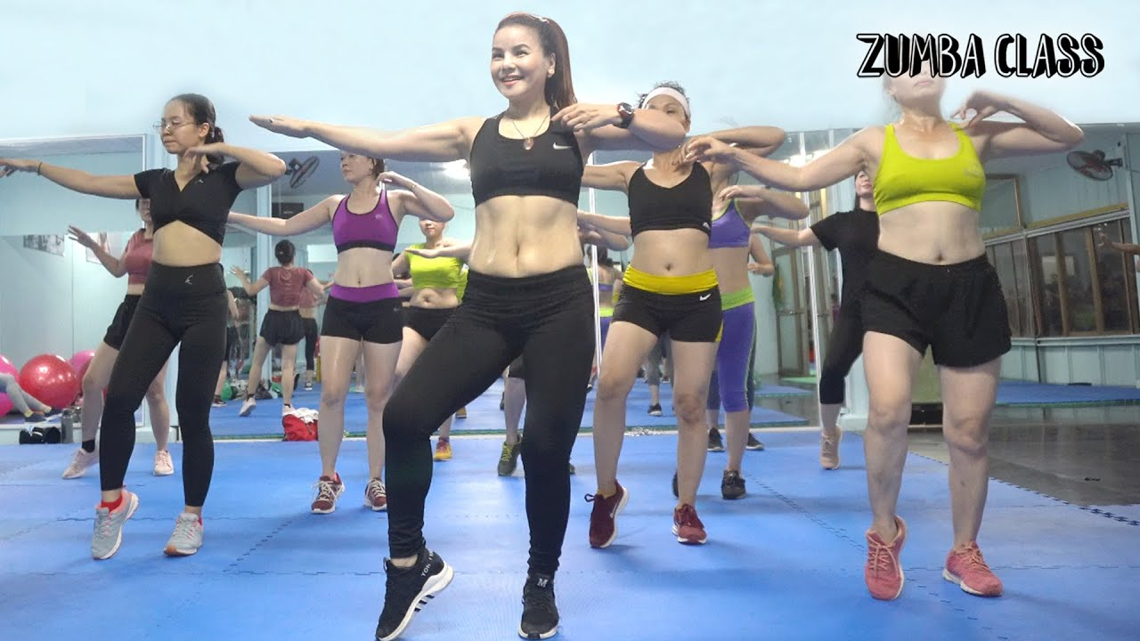 LOSE BELLY FAT in 10 Days lower belly l 52 Mins AEROBIC FULL BODY WORKOUT at Home l Zumba Class