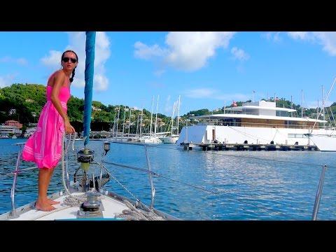 """SSL 57 ~ DODGING HURRICANE MATTHEW 7 ~ in Grenada with MegaYacht """"VENUS""""!"""
