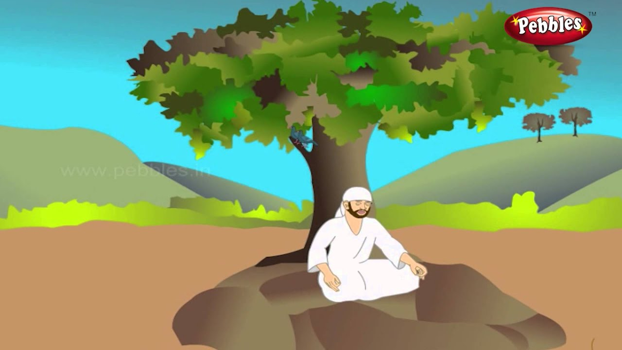 సాయిబాబా కధలు-4 -Sai Baba Stories in Telugu -Pebbles Animated Stories In  Telugu