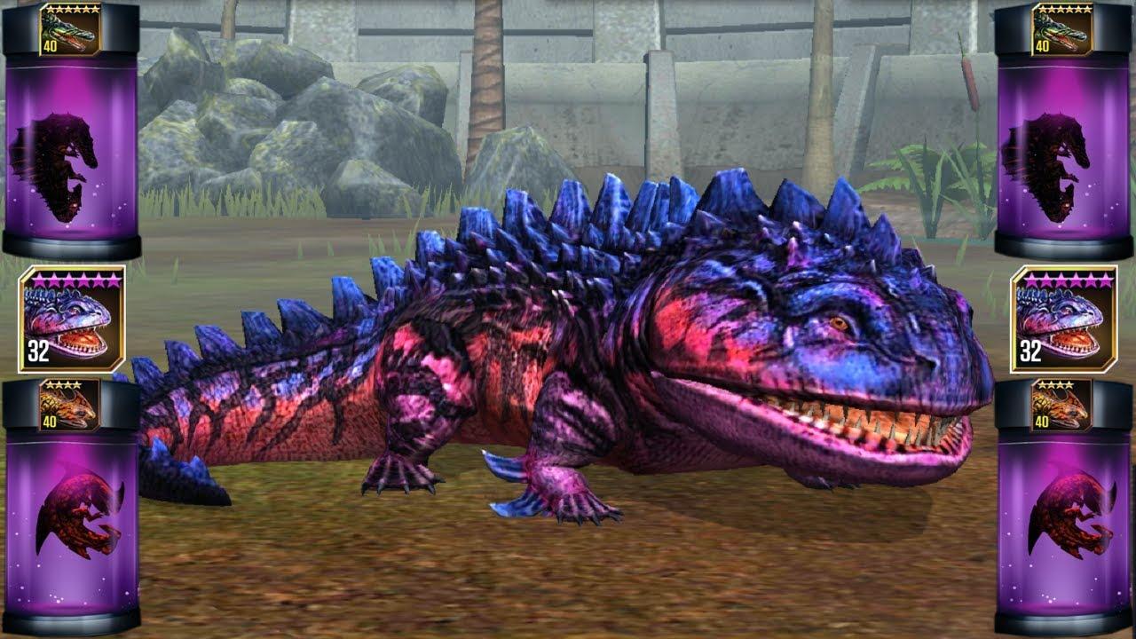 Jurassic World Game Mobile #24: Đột Biến Khủng Long Hệ Nước Mạnh Quá @@