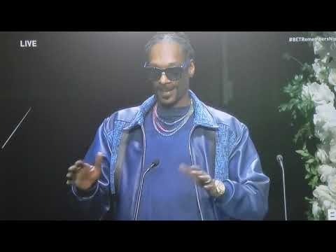 Snoop Dogg speaks at Nipsey Hussle  Homegoing  service April 11, 2019