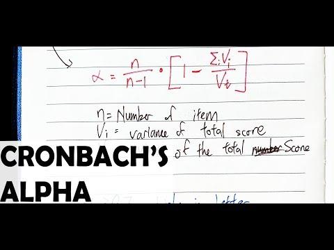 Understanding Cronbach's Alpha