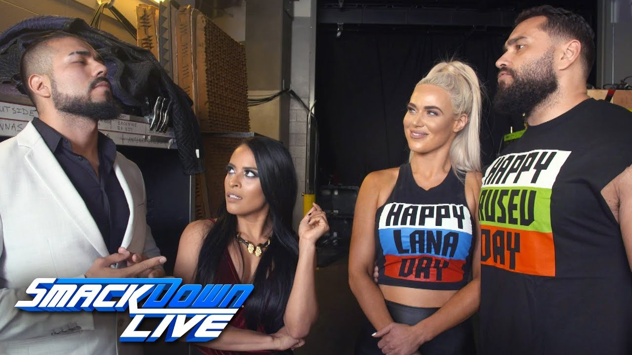 """Andrade """"Cien"""" Almas accepts a match on Rusev Day: SmackDown Exclusive, July 24, 2018"""