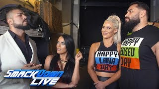 "Andrade ""Cien"" Almas accepts a match on Rusev Day: SmackDown Exclusive, July 24, 2018"
