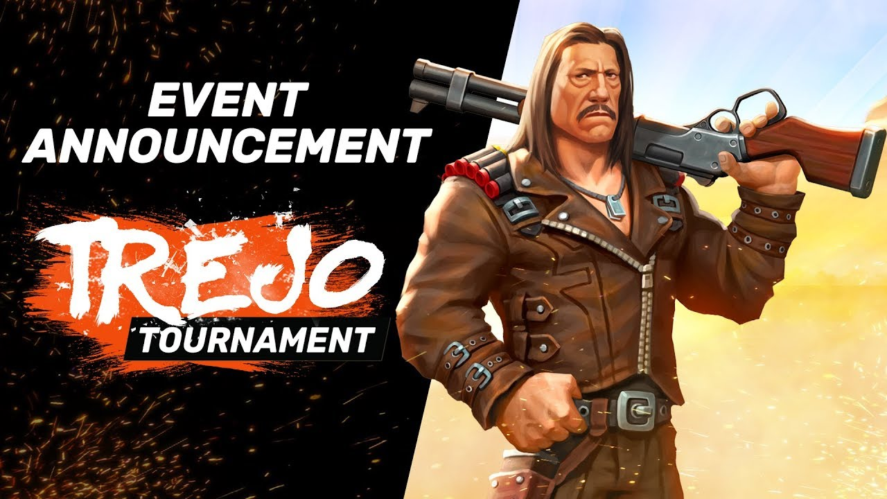 Trejo Tournament Announcement Trailer - Guns of Boom Update 4.0