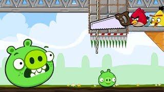 Crush Bad Piggie - TRAP SQUASH ALL PIGGIES CHALLENGE!