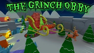 Roblox Time - The Grinch Obby Full Gameplay
