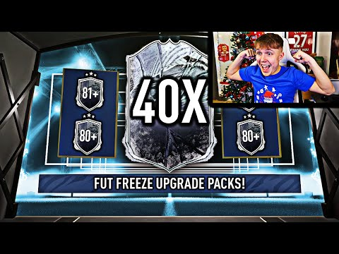MASSIVE PLAYER PACKED! 40X 80+ PLAYER PICK/81+ DOUBLE UPGRADE PACKS!!!