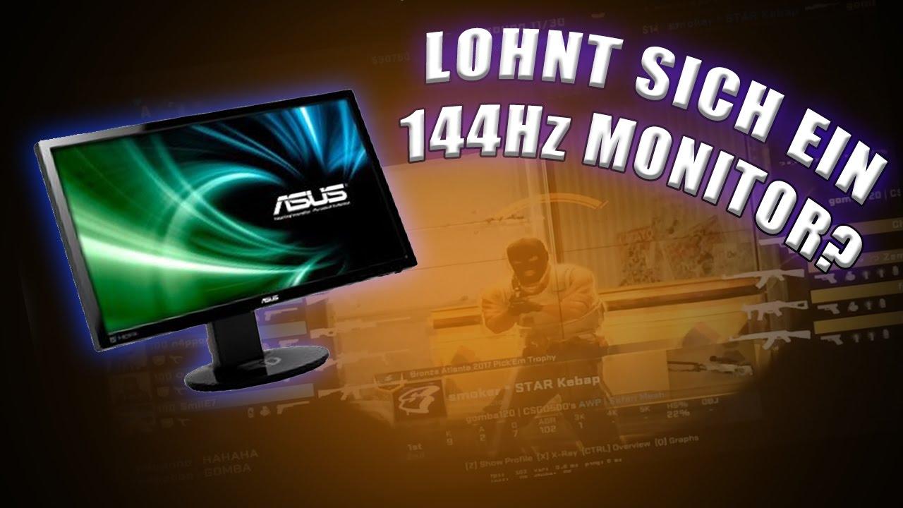 CS:GO - 144Hz Monitor: Lohnt es sich?