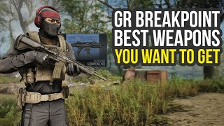 Ghost Recon Breakpoint Best Weapons You Want To Get (Ghost Recon Breakpoint Tips - GR Breakpoint)